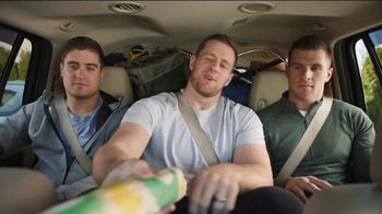 Subway TV Spot, 'What's Your Favorite?' Featuring J. J. Watt, T. J. Watt, Derek Watt