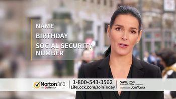 LifeLock TV Spot, 'CSP360 V1B Celeb60 25 Only' - 101 commercial airings