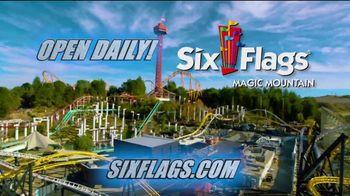 Six Flags Magic Mountain SoCal Resident Sale TV Spot, 'West Coast Racers' - Thumbnail 9
