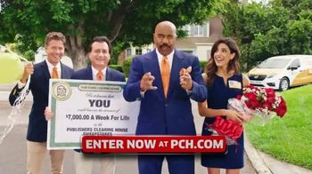 Publishers Clearing House TV Spot, '$7,000 a Week: Hey Folks' Featuring Steve Harvey - 679 commercial airings