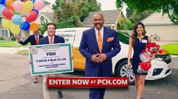 Publishers Clearing House TV Spot, '$7,000 a Week: Hey Folks' Featuring Steve Harvey - Thumbnail 1