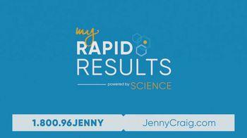 Jenny Craig My Rapid Results TV Spot, 'Custom Fit: $100 and DNA Kit' - Thumbnail 9
