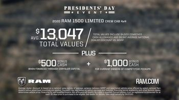 Ram Trucks Presidents Day Event TV Spot, 'Lead From Within' Song by Kingdom 2 [T2] - Thumbnail 9