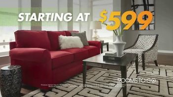 Rooms to Go Anniversary Sale TV Spot, 'Living Rooms, Bedrooms and More' - Thumbnail 7
