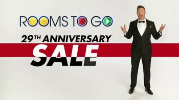 Rooms to Go Anniversary Sale TV Spot, 'Extra Savings' Featuring Jesse Palmer - 2 commercial airings