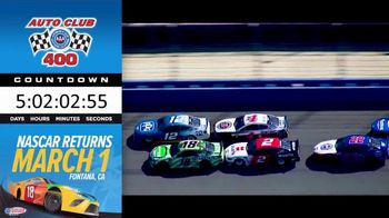 Auto Club Speedway TV Spot, '2020 Auto Club 400: The Countdown Is On'