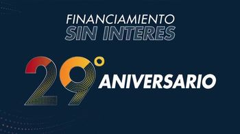 Rooms to Go Venta de Aniversario TV Spot, 'Tiempo de ahorrar' [Spanish] - Thumbnail 1
