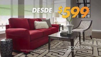 Rooms to Go Venta de Aniversario TV Spot, 'Tiempo de ahorrar' [Spanish] - Thumbnail 6
