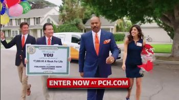 Publishers Clearing House TV Spot, '$7,000 a Week: Ready to Win' Featuring Steve Harvey