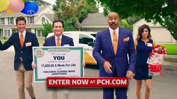 Publishers Clearing House TV Spot, '$7,000 a Week: Surprise You' Featuring Steve Harvey - 694 commercial airings