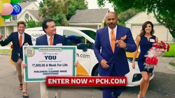 Publishers Clearing House TV Spot, '$7,000 a Week: Surprise You' Featuring Steve Harvey - Thumbnail 1