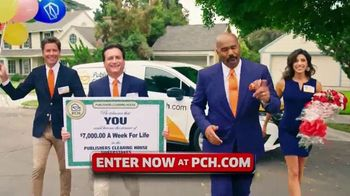Publishers Clearing House TV Spot, '$7,000 a Week: Surprise You' Featuring Steve Harvey - Thumbnail 2
