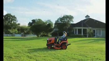 Kubota BX Series TV Spot, 'All This Grass' - Thumbnail 4