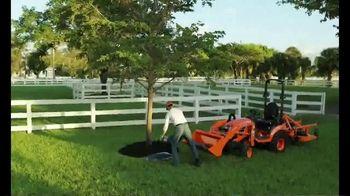 Kubota BX Series TV Spot, 'All This Grass' - Thumbnail 9