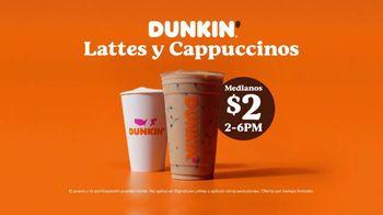 Dunkin' Lattes y Cappuccinos TV Spot, 'Beber para creer' [Spanish] - Thumbnail 7