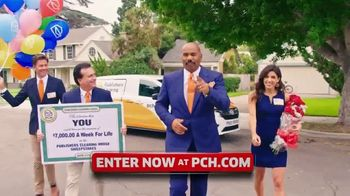 Publishers Clearing House TV Spot, '$7,000 a Week: Real Money' Featuring Steve Harvey - 72 commercial airings