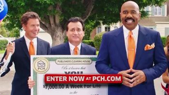 Publishers Clearing House TV Spot, '$7,000 a Week: Real Money' Featuring Steve Harvey - Thumbnail 4