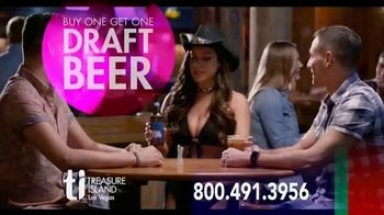 Treasure Island Hotel & Casino TV Spot, 'Your Deal:$99 per Night' - Thumbnail 1