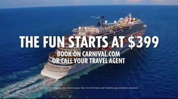 Carnival TV Spot, 'The Fun Ones: $399' - Thumbnail 10