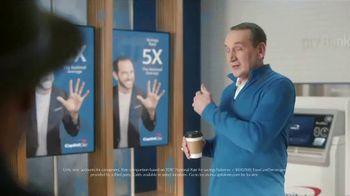 Capital One TV Spot, 'Coach K' Featuring Samuel L. Jackson, Spike Lee, Charles Barkley - Thumbnail 4