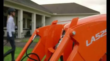 Kubota L Series Tractors TV Spot, 'When You Own Horses'