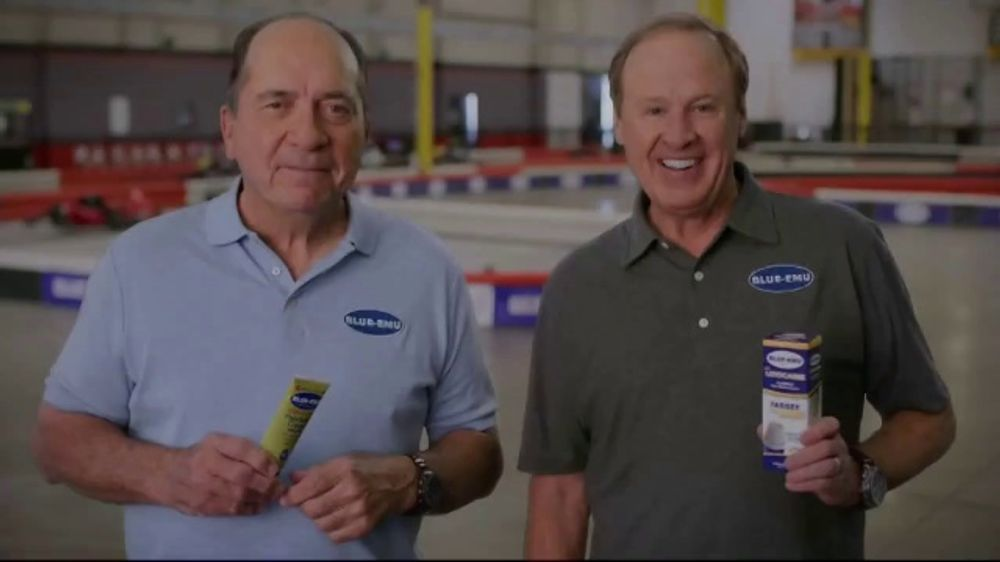 Blue-Emu TV Commercial, 'Winning Never Gets Old' Featuring Johnny Bench and Rusty Wallace