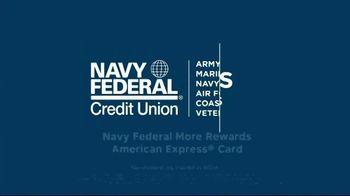 Navy Federal Credit Union More Rewards American Express Card TV Spot, 'Feeding an Army' - Thumbnail 10