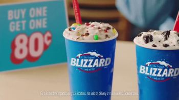 Dairy Queen Happiest Birthday Ever TV Spot, 'BOGO Blizzards: 80 Cents' - Thumbnail 3