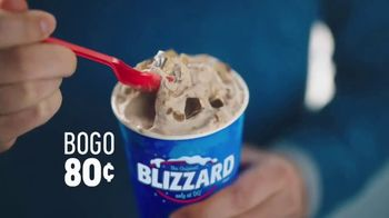 Dairy Queen Happiest Birthday Ever TV Spot, 'BOGO Blizzards: 80 Cents' - Thumbnail 8