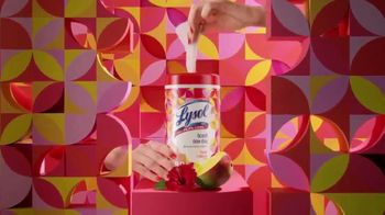 Lysol Brand New Day Disinfecting Wipes TV Spot, 'Add Excitement to Your Cleaning Routine' - Thumbnail 2