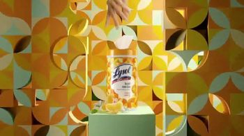 Lysol Brand New Day Disinfecting Wipes TV Spot, 'Add Excitement to Your Cleaning Routine' - Thumbnail 5