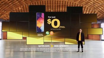Sprint TV Spot, 'Galaxy A50' - 264 commercial airings