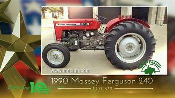 Mecum Gone Farmin' 2020 Spring Classic TV Spot, 'Tractors & Trucks' - Thumbnail 4