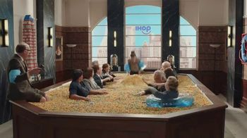 IHOP Cereal Pancakes TV Spot, 'Board Meeting' - Thumbnail 10