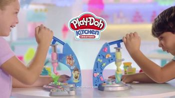 Play-Doh Kitchen Creations Drizzy Ice Cream Playset TV Spot, 'We All Scream' - Thumbnail 1