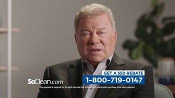 SoClean TV Spot, 'Sleep Disorder: $50 Rebate' Featuring William Shatner - Thumbnail 8