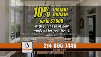 Beldon Windows TV Spot, 'Satisfied Customers: 10 Percent Instant Rebate' - Thumbnail 6