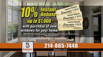Beldon Windows TV Spot, 'Satisfied Customers: 10 Percent Instant Rebate' - Thumbnail 7