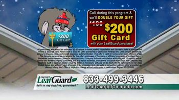 LeafGuard of Colorado Winter Half Off Sale TV Spot, 'Heavy Snow' - Thumbnail 6