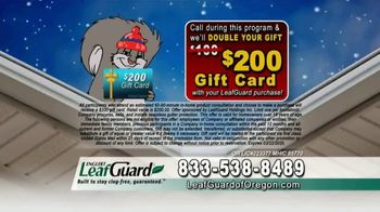 LeafGuard of Oregon Winter Half Off Sale TV Spot, 'One More Reason' - Thumbnail 9