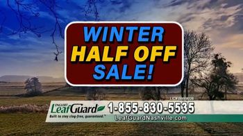 LeafGuard of Nashville Winter Half Off Sale TV Spot, 'Winning Combination'