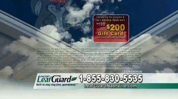 LeafGuard of Nashville Winter Half Off Sale TV Spot, 'Winning Combination' - Thumbnail 7