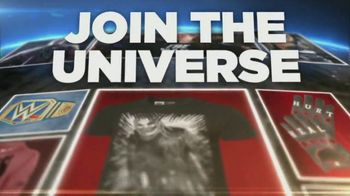 WWE Shop TV Spot, 'Join the Universe: 50 Percent Off Championship Titles & Tees' Song by Krissie Karlsson - Thumbnail 5