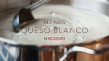 Chipotle Mexican Grill Queso Blanco TV Spot, 'For Those Who Love Queso' - Thumbnail 3