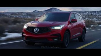 Acura Presidents Day Event TV Spot, 'Watch This: Snow' [T2]