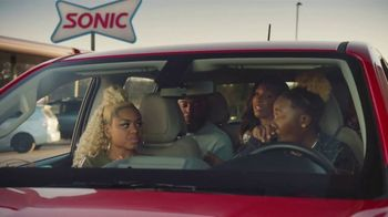Sonic Drive-In Jr. Double Stack TV Spot, 'Smacking' - Thumbnail 3