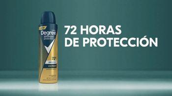 Degree Men Advanced Protection Dry Spray TV Spot, 'Instante' [Spanish] - Thumbnail 10