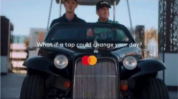 Mastercard TV Spot, 'Tap & Go: Coffee Stand' Featuring Justin Rose, Tom Watson - Thumbnail 2