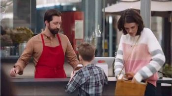 Mastercard TV Spot, 'Tap & Go: Coffee Stand' Featuring Justin Rose, Tom Watson - Thumbnail 3
