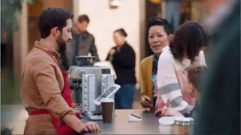 Mastercard TV Spot, 'Tap & Go: Coffee Stand' Featuring Justin Rose, Tom Watson - Thumbnail 5